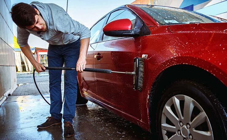 Car wash and car detailing croydon bumblebeecarwash - Steam clean car interior near me ...
